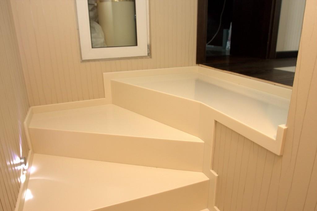 Лестницы в Гомеле из мрамора