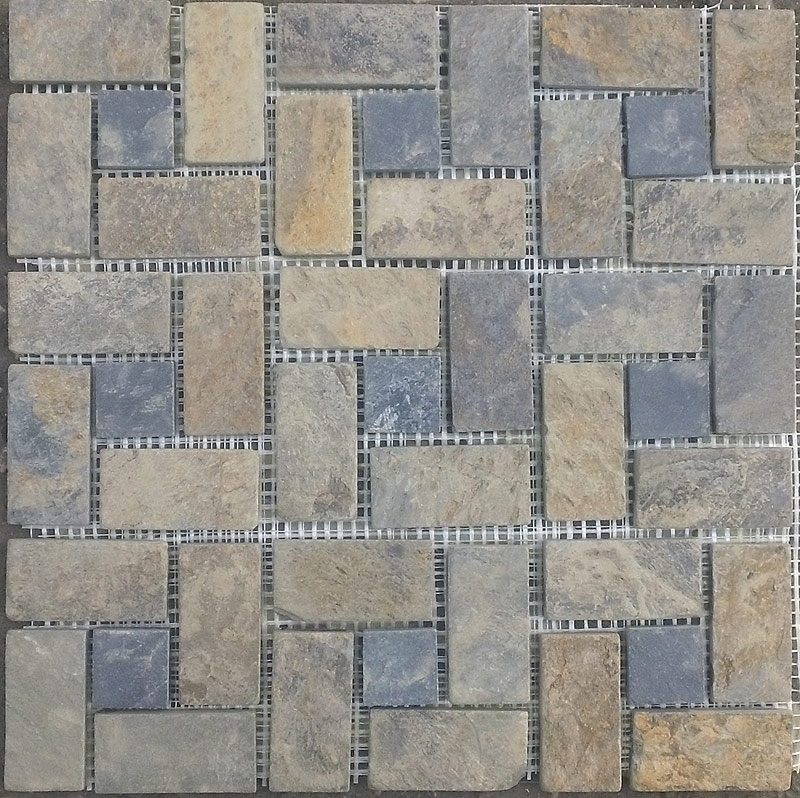 Мозаика Multicolor Cordwood (Китай)