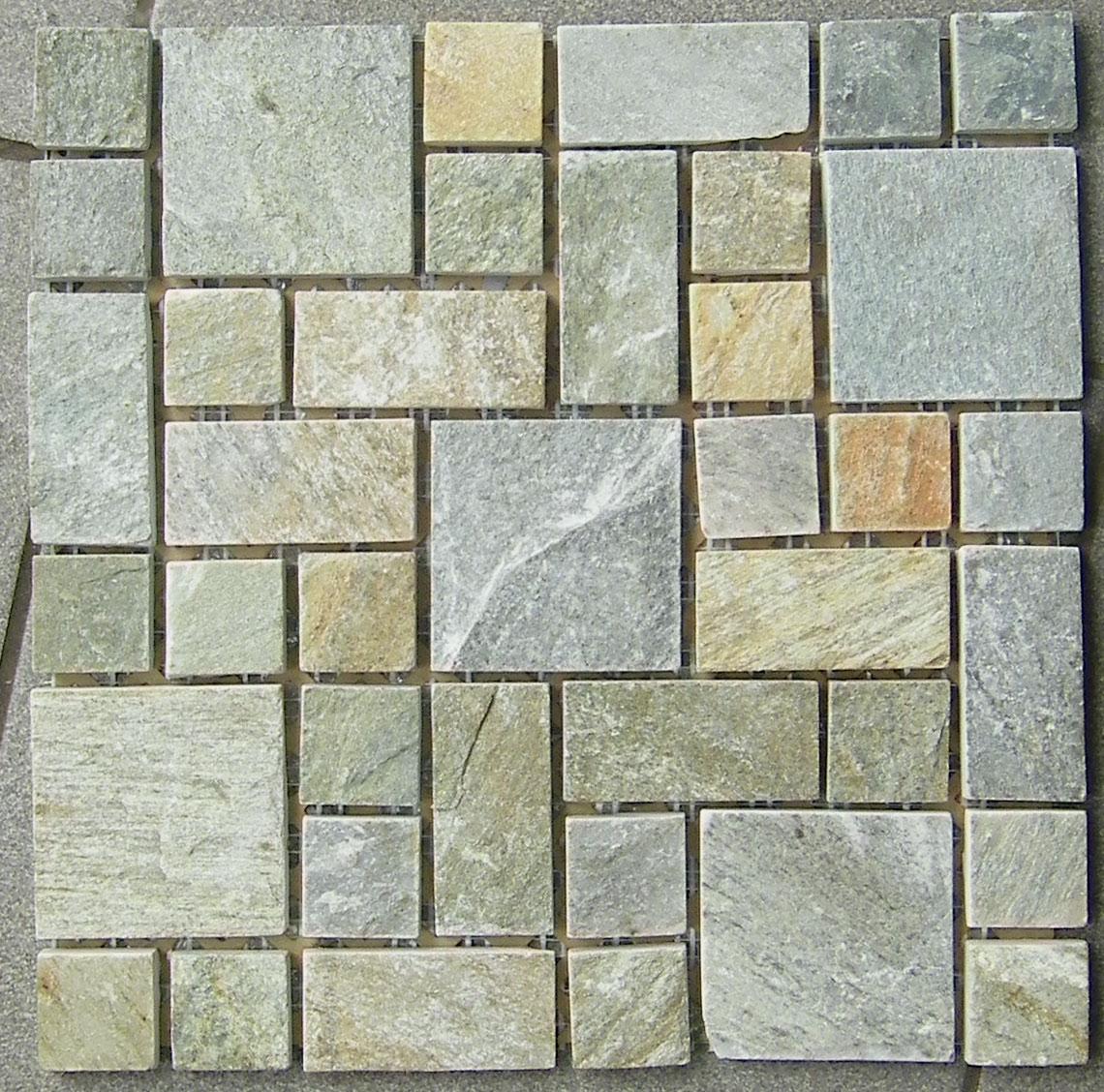 Мозаика Cordwood (Китай)